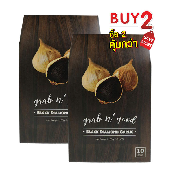 Buy 2 Save More! Grab n'Good Black Diamond Garlic 100 grams x 2 Pcs