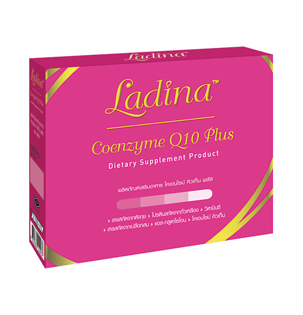 LADINA Coenzyme Q10 Plus Dietary Supplement Prouduct