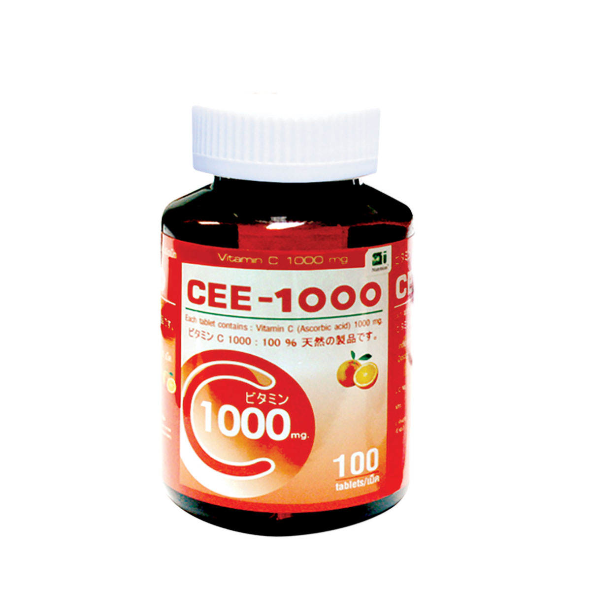 CEE-1000 Vitamin C 1000 mg., 100 Tablets
