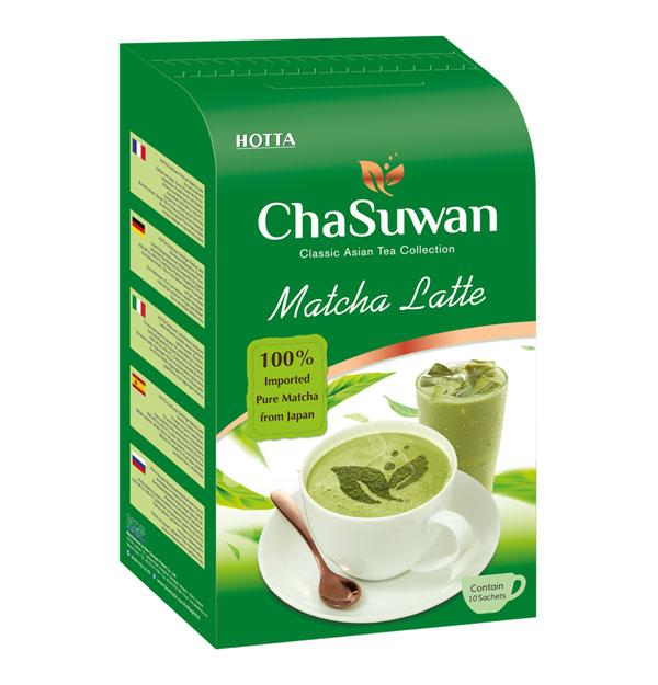 HOTTA Chasuwan Instant Matcha Latte 15g.x 10 Sachets