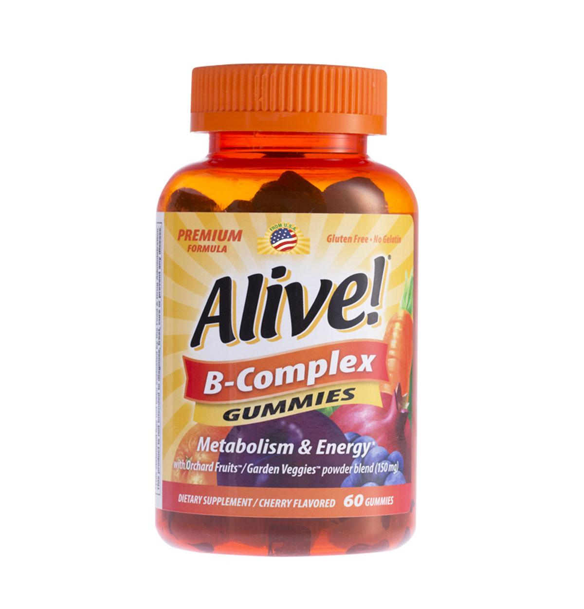 Alive! B-Complex Gummies ขนาด 60 กัมมี่