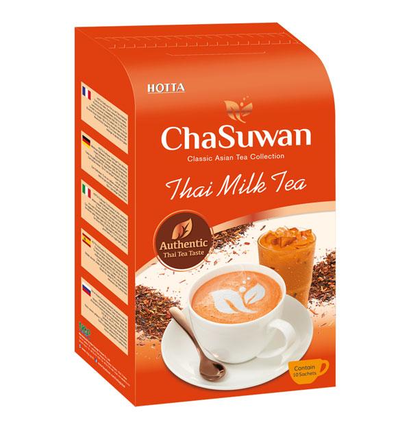 HOTTA Chasuwan Instant Thai Milk Tea 1g.x 10 Sachets