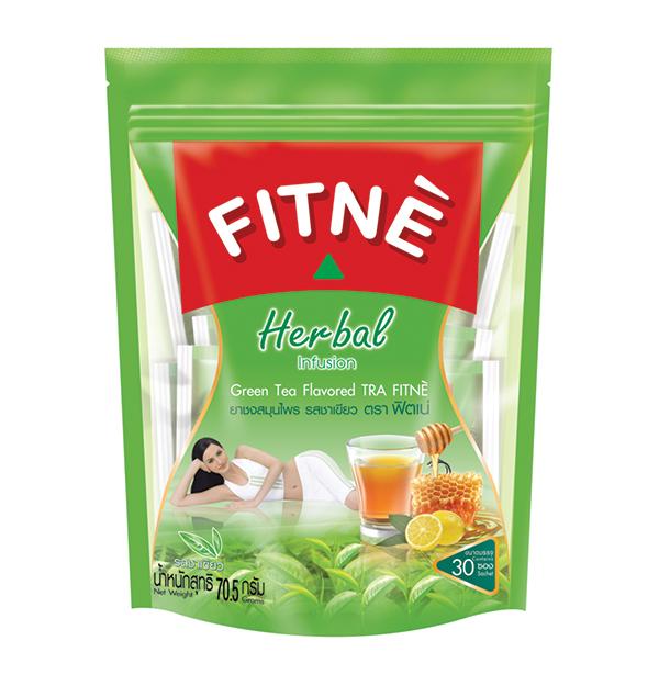 FITNE' Herbal Tea Green Tea Flavored 2.35g.x30 Sachets